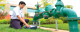 Installation and repair of water pumps and pressure groups.